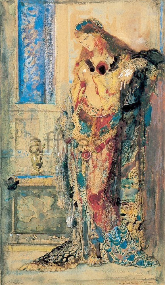 Каталог Аффреско, Импрессионисты и постимпрессионистыГюстав Моро, The Toilette | арт. Gustave Moreau, The Toilette