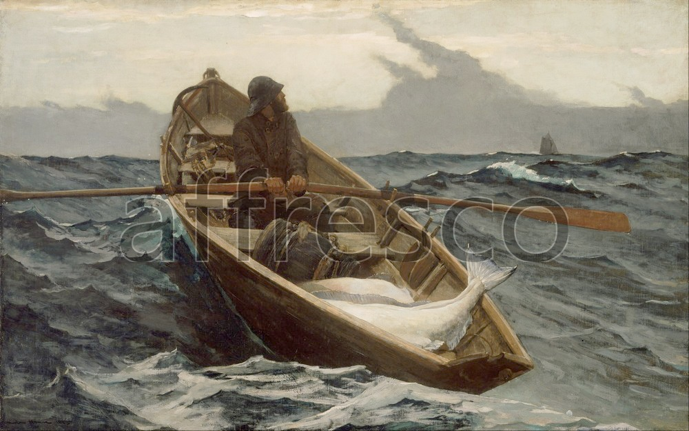 Каталог Аффреско, Жанровые сценыУинслоу Хомер, The Fog Warning  | арт. Winslow Homer, The Fog Warning